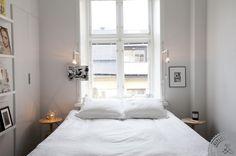 Valoa pieneen makuuhuoneeseen