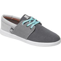 DC Womens Grey Haven Skate Shoe GreyGreyGrey 6 M US -- Visit the image link more details.