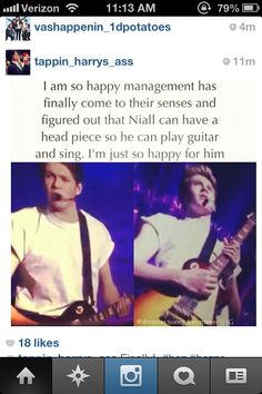 I'm kinda sick of people blaming management for everything. I'm glad Niall has a headset now though :)