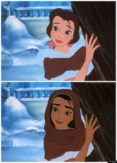 """This artist swapped iconic characters' skin colours in """"Racebent Disney"""" [Huffington Post]"""