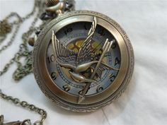 Literary themed pocket watches. I love the Harry Potter time turner watch.