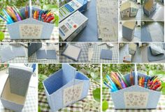 tavolo da ufficio regalo per la casa per compleanni per scrivania portamatite organizer tradizionale fatto a mano portapenne forniture scolastiche Design decorativo in legno