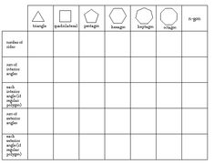 Worksheets Angles Of Polygons Worksheet interiors angles and worksheets on pinterest use inductive reasoning to discover the properties of interior exterior polygons