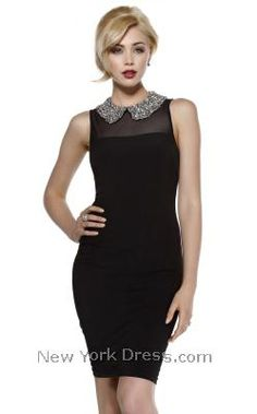Shail K 3860 - NewYorkDress.com...cocktails anyone? chic and classic look!!