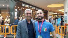 """Con Evaristo Beccalossi durante il """"Palla Ai Centri"""""""