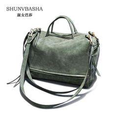 3dcea66c96 Women s Shoulder Bag Nubuck Leather Vintage Messenger Bag   Price   30.00   amp  FREE