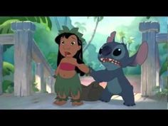 ▶ funny parts in stitch has a glitch - YouTube  I love this =)