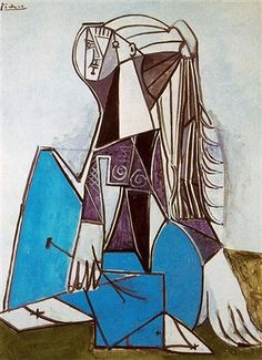 PICASSO, Portrait of Sylvette David (1954),oils 130.7 x 97.2 cm