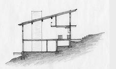 Cottage on a small lake - James Ireland Architect Inc.