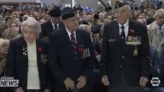 The biggest Remembrance Day service outside of Ottawa takes place at the Canadian Warplane Heritage Museum.  Each year the hanger is packed with people paying tribute to soldiers past and present. More than 2500 people packed the Canadian Warplane Heritage Museum to honour Canada's bravest. At the eleventh hour there was a moment of silence to pay tribute to those who served.  Who fought for our freedom and to who sacrificed their lives.  The silence ended with the rumble of the Lancaster…