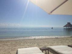 Zoetry Paraiso de la Bonita: beautiful clean clear waters and white sandy beach