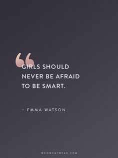 Emma Watson Quotes That Every Woman Should Read | WhoWhatWear