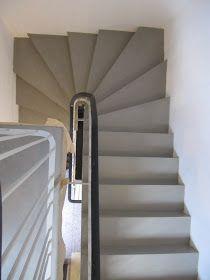 Im Rahmen der Sanierung eines Einfamilienhauses aus den späten 60er Jaren in Berlin-Wannsee wurden die Treppen und Zwischenpodes...