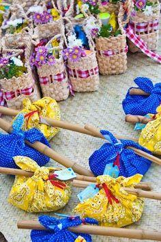 50 ideias para uma decoração de festa junina/julina