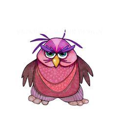 Rootin' Tootin' Grumpy Owl