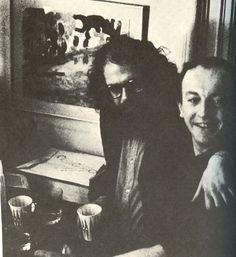 Allen Ginsberg and Frank O'Hara.  Click through for: In Which We Collect These Remembrances of Frank O'Hara - Home - This Recording