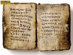 The text (pictured) was studied by Professor Anne Marie Luijendijk from Princeton University. It is written in an ancient language called Coptic and is titled the 'Gospel of the Lots of Mary'. Nag Hammadi Library, Oracle Book, Harvard Art Museum, Archaeology News, Thing 1, Text Pictures, Old Books, Ancient History, Science And Technology