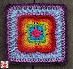 Rainbow Bridges-October Love ~ free pattern