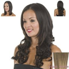 """Curly Blonde Clip In Hair Extensions 