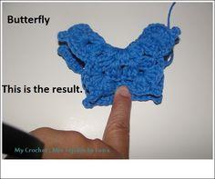 My Crochet , Mis Tejidos by Luna: SIBOL ´ S Granny SQUARE