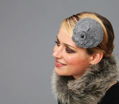 woll fascinator fifties style
