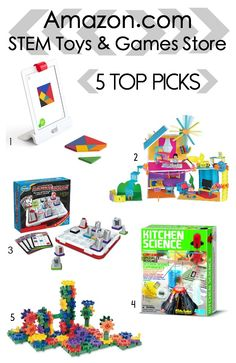 Amazon.com Launches STEM Toys & Games Store | The Shopping Mama