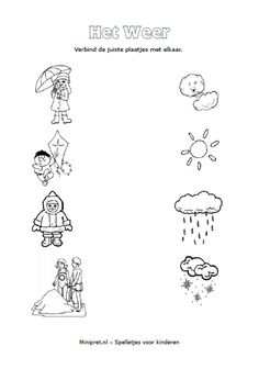 1 million+ Stunning Free Images to Use Anywhere Weather Worksheets, Weather Activities, Kids Learning Activities, Kindergarten Activities, Preschool Activities, Nursery Worksheets, Preschool Worksheets, Fall Preschool, Kids Class