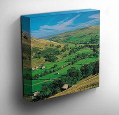 #Yorkshire Dales National Park Canvas #Art Print