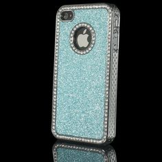Luxury Bling Diamond Rhinestone Case For iPhone in Blue