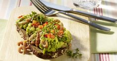 The best Prawn And Avocado Open Sandwich recipe you will ever find. Welcome to RecipesPlus, your premier destination for delicious and dreamy food inspiration. Open Sandwich Recipe, Sandwich Recipes, Prawn Salad, Prawn Recipes, Avocado Toast, Guacamole, Food Inspiration, Healthy Snacks, Seafood