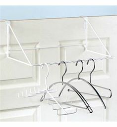 Bon Over The Door Valet   Clothes Hanger That Slips Over The Door   Extra  Hanging Space | Solutions: PERFECT For The Laundry Room, Where You Might  Needu2026