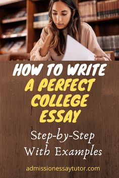 Do you know the secret ingredient to writing an outstanding college application essay? Here you will find answers to all your college admissions essay questions, including a step-by-step workshop tutorial with examples to teach you how to write the perfect college essay to get you into the school of your choice. #CollegeAdmissionsEssayExamples #howtowriteacollegeEssay #PersonalStatementExamplesForCollege College Admission Essay, College Essay, College Application Essay, Essay Questions, Essay Examples, Workshop, Teaching, Writing, School