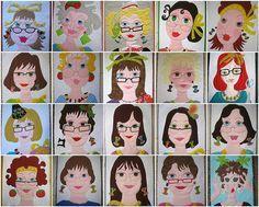 """My """"girls"""" from 2011 in my Ladies Series plus Flossie #20 by mamacjt, via Flickr"""