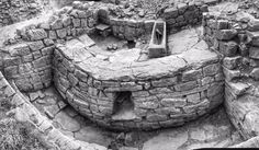 The Latrines with trough for sponges (roman bottom wiping) @RomanBinchester #archaelogy