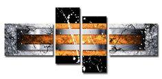 MA_Cuadro Abstracto 02 Naranja