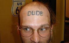 15 Most Stupid Forehead Tattoos - Oddee.com (stupid tattoos)