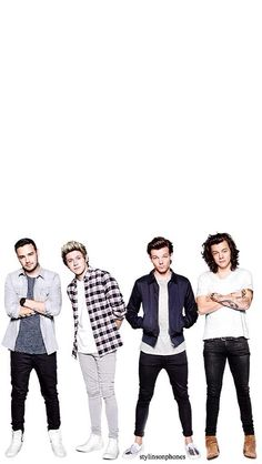 Liam, Niall, Louis, and Harry