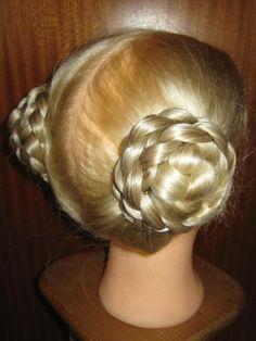 german braids style plaits