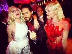 Lady GaGa, Jared Leto, Gwen Stefani