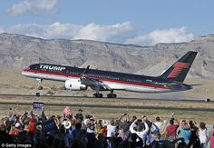 Donald Trump bought this Boeing 757 in 2011 and spent millions converting it into a pentho...