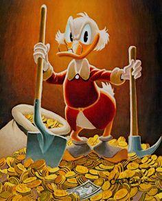 Pick and Shovel Laborer (1993). Carl Barks.
