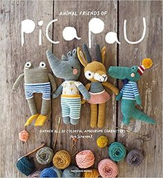 Animal Friends of Pica Pau: Gather All 20 Colorful Amigurumi Animal Characters: Yan Schenkel: Amazon.com.mx: Libros