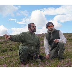 Mohammed bin Rashid bin Saeed Al Maktoum y su hijo, Hamdan bin Mohammed bin Rashid Al Maktoum, Yorkshire, 28/08/2015. Vía. faz3