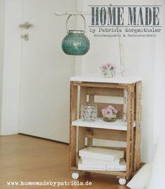 DIY: Lampen-Tischchen – Homemade by Patricia
