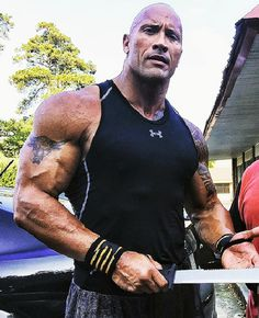 Get massive arms like the rock