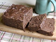 gluten-free vegan chocolate zucchini bread ...from Serious Eats