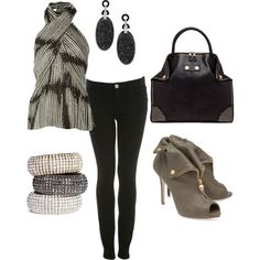 Rocker Girl, created by august29 on Polyvore