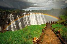 Victoria Falls (Zambia), By EsrAli