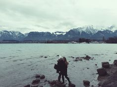 I don't know how many moments will be able to match up to standing on Lake Thun in front of the Bernese Alps with my best friend. My Best Friend, Best Friends, Lake Thun, Alps, Switzerland, I Am Awesome, In This Moment, Mountains, Nature