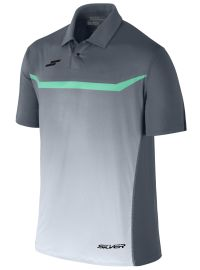 8b0f65d02a8aa SilverSportWear Playera Polo Fashion color oxford gris aqua